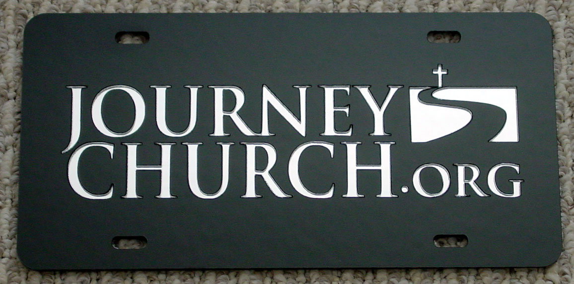 Journey Church Plate