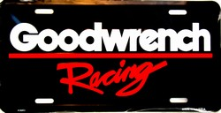 LP-040 Goodwrench Racing License Plate - X0683