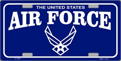 LP-1022 U.S. United States Air force License Plate - 2678