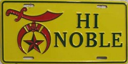 LP-108 High Noble License Plate - 29