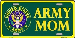 LP-1109 US Army Mom License Plate - X300