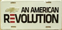 LP-1237 Chevy - An American Revolution License Plate - 2715