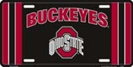 LP-1285 Ohio State Buckeyes License Plate - 2724