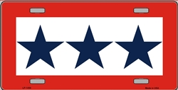 LP-1450-2TLP-1450 Blue Star Mother (Three) License Plate
