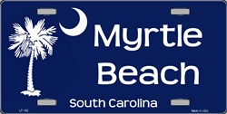 LP-182 Myrtle Beach License Plate
