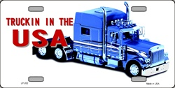 LP-202 Trucking in the USA License Plate - 114