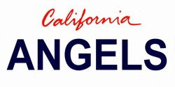 LP-2096 California State Background License Plates - Angels