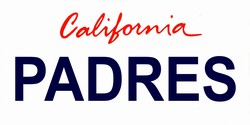 LP-2099 California State Background License Plates - Padres