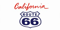 LP-2103 California State Background License Plates - Route 66
