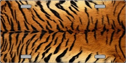 LP-2193 Tiger FLAT Automotive License Plates Blanks for Customizing