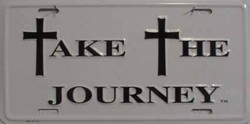 LP-260 Take the Journey License Plate - 6718