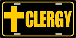 LP-263 Clergy License Plate - 97