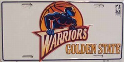 LP-661 Golden State Warriors License Plate - 706