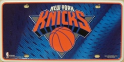 LP-664 NY Knicks License Plate - 81001M