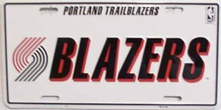 LP-666 Portland Trailblazers License Plate - 717