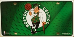 LP-669 Boston Celtics License Plate - 74002M