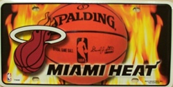 LP-670 Miami Heat License Plate - 77002M