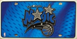 LP-674 Orlando Magic License Plate - 83002M