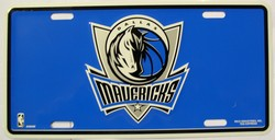 LP-681 Dallas Mavericks License Plate - 84002M