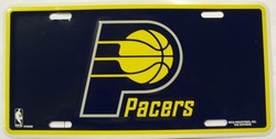 LP-687 Indiana Pacers License Plate - 87003M