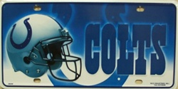 LP-739 Indianapolis Colts NFL Football License Plate - 2601M lg
