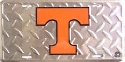 LP-830 Tennessee TVols College License Plate - 2575