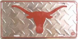 LP-836 Texas Longhorns College License Plate - 2634