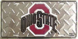 LP-837 Ohio State Buckeyes License Plate - 2644