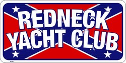 LP-843 Redneck Yacht Club - Confederate Flag - x137