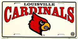 LP-905 University of Louisville License Plate - 455