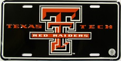 lp-789 Texas Tech Red Raiders College License Plate - 2013