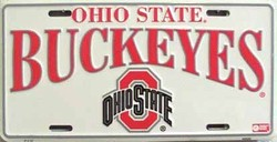 lp-798 Ohio State Buckeyes College License Plate - 2157