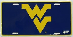 lp-823 West Virginia Mountaineers - College License Plate - 466